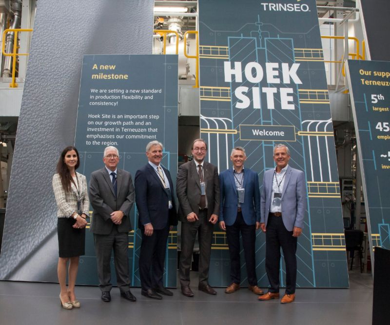 The new compounding factory is in close vicinity to Trinseo's new R+D Centre and its  and distribution partner Katoen Natie (Source: Trinseo)