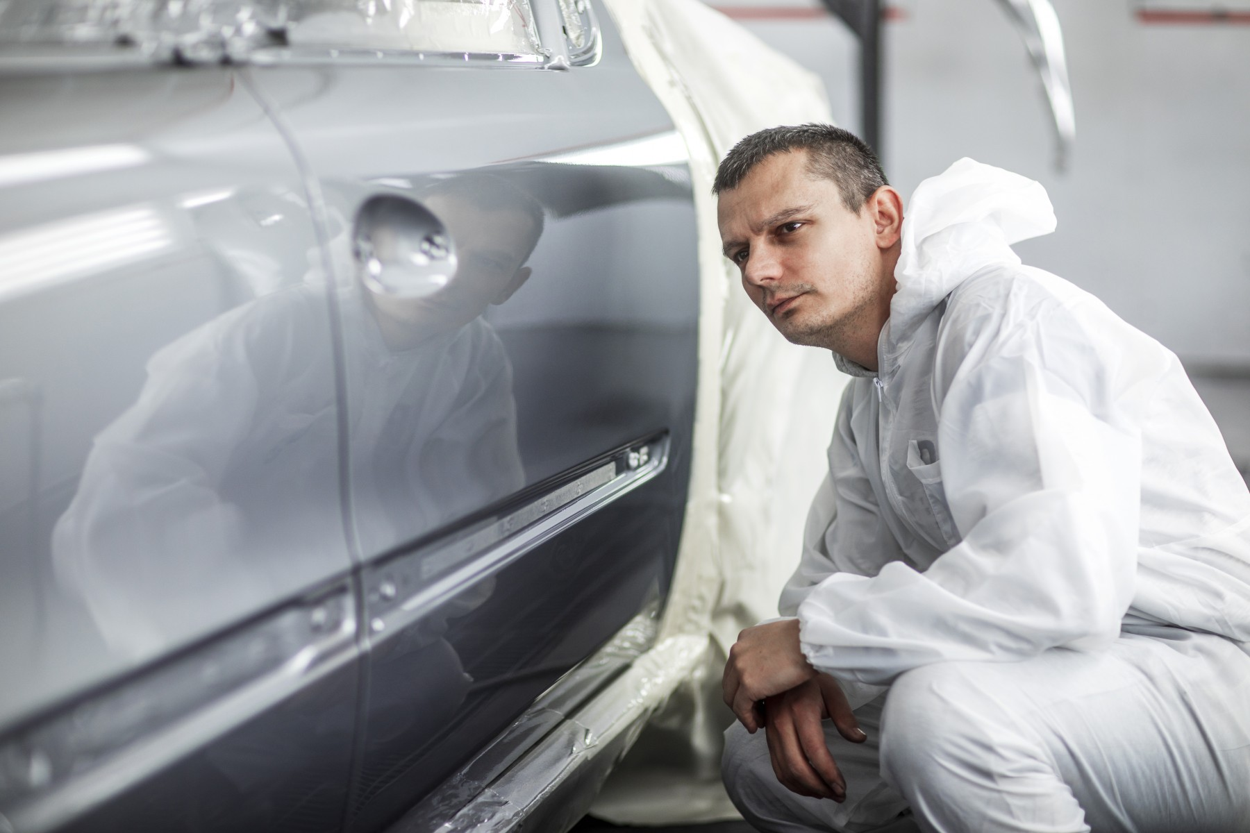 BASF refinish coatings formulated with hardeners from Covestro's Ultra line meet the highest safety standards while maintaining premium quality, including appearance. (Source: Covestro)