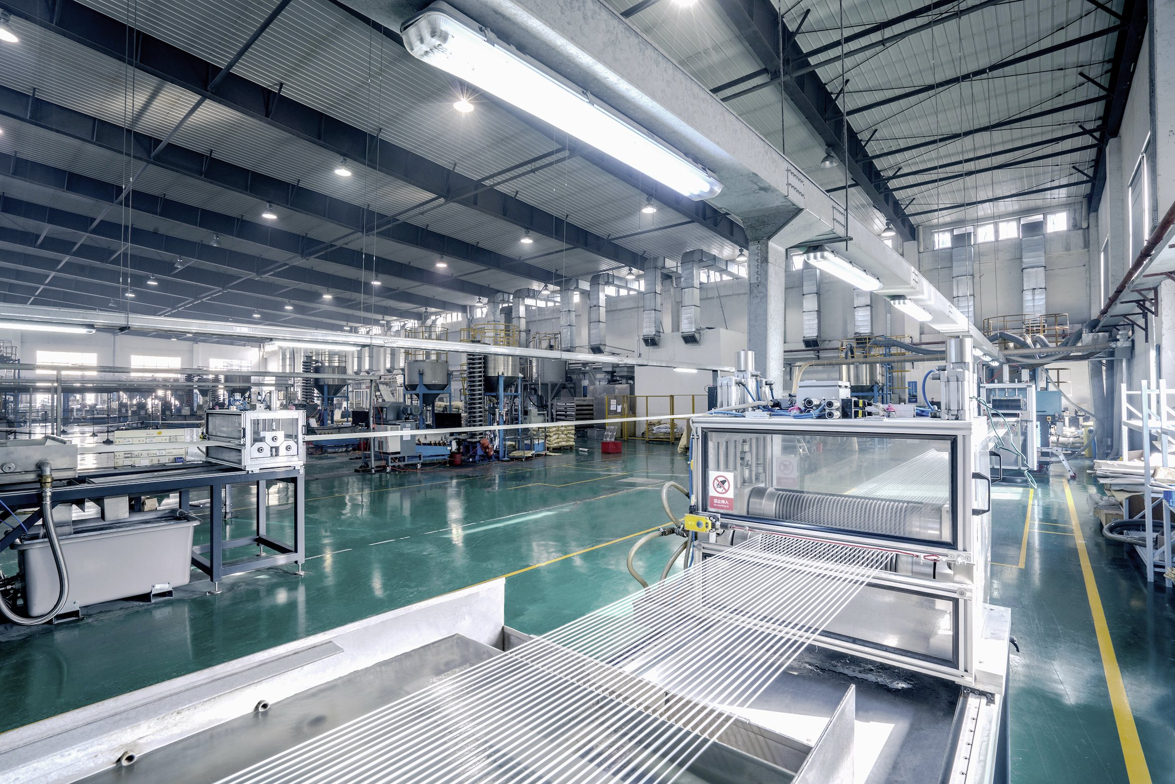 In 2017, Sunway purchased its first 32 strand LFT pultrusion line from ProTec, while a second unit with 64 strands followed in 2019 (Source: ProTec)