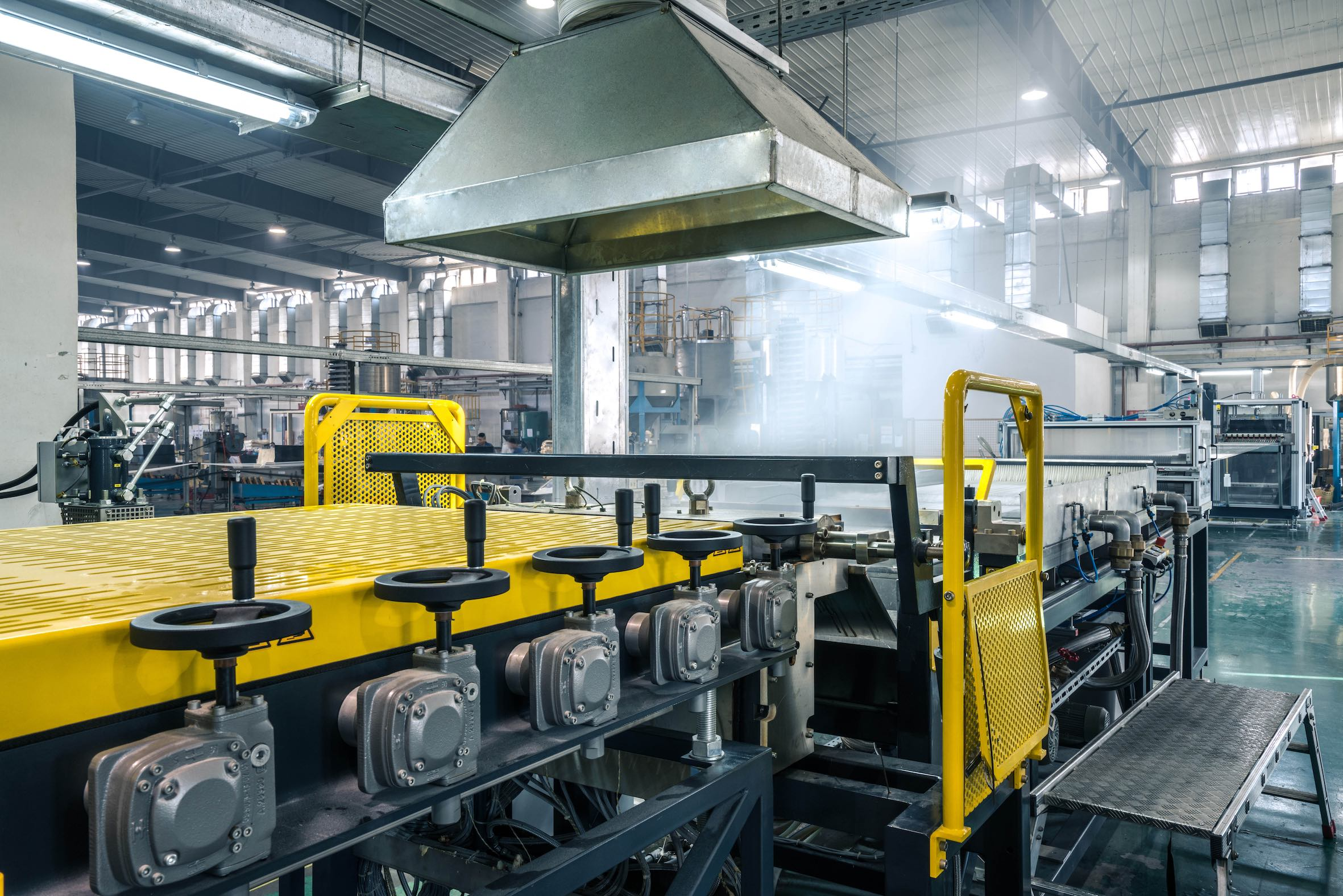 Sunway uses ProTec's pultrusion lines to automate the production of LFT pellets (Source: ProTec)