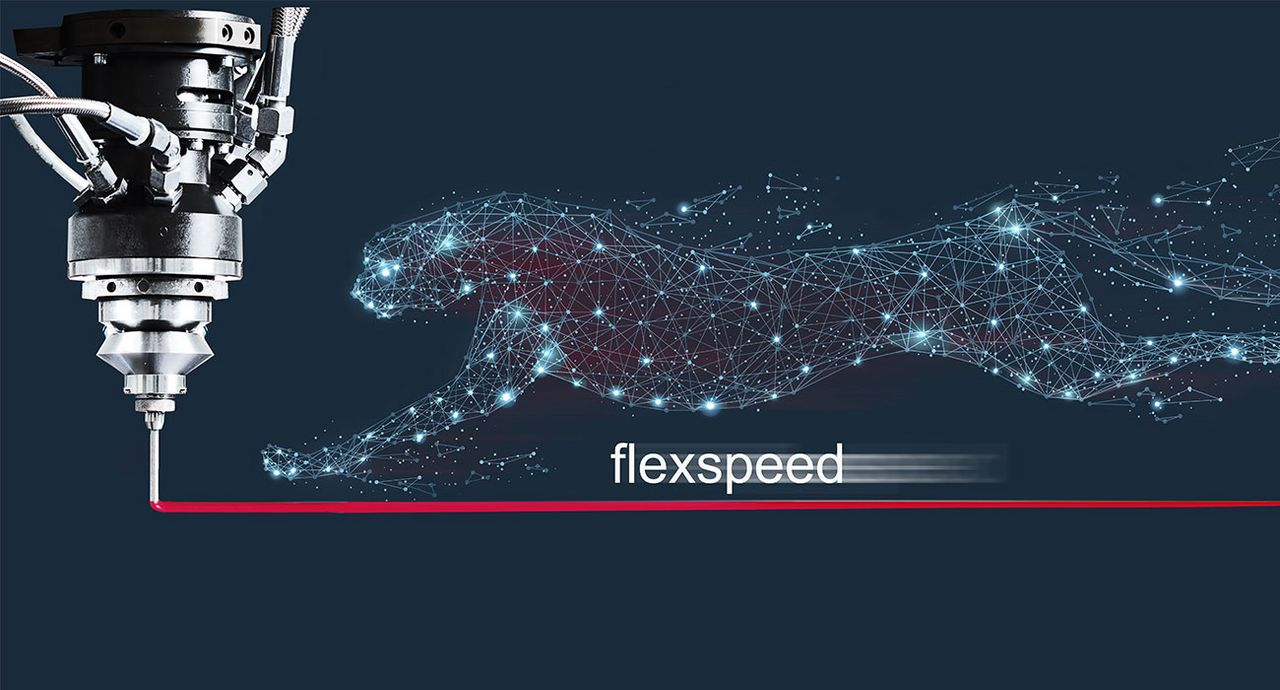 FlexSpeed dispensing technology cuts lead times in series production by more than 50 %. (Source: Rampf)