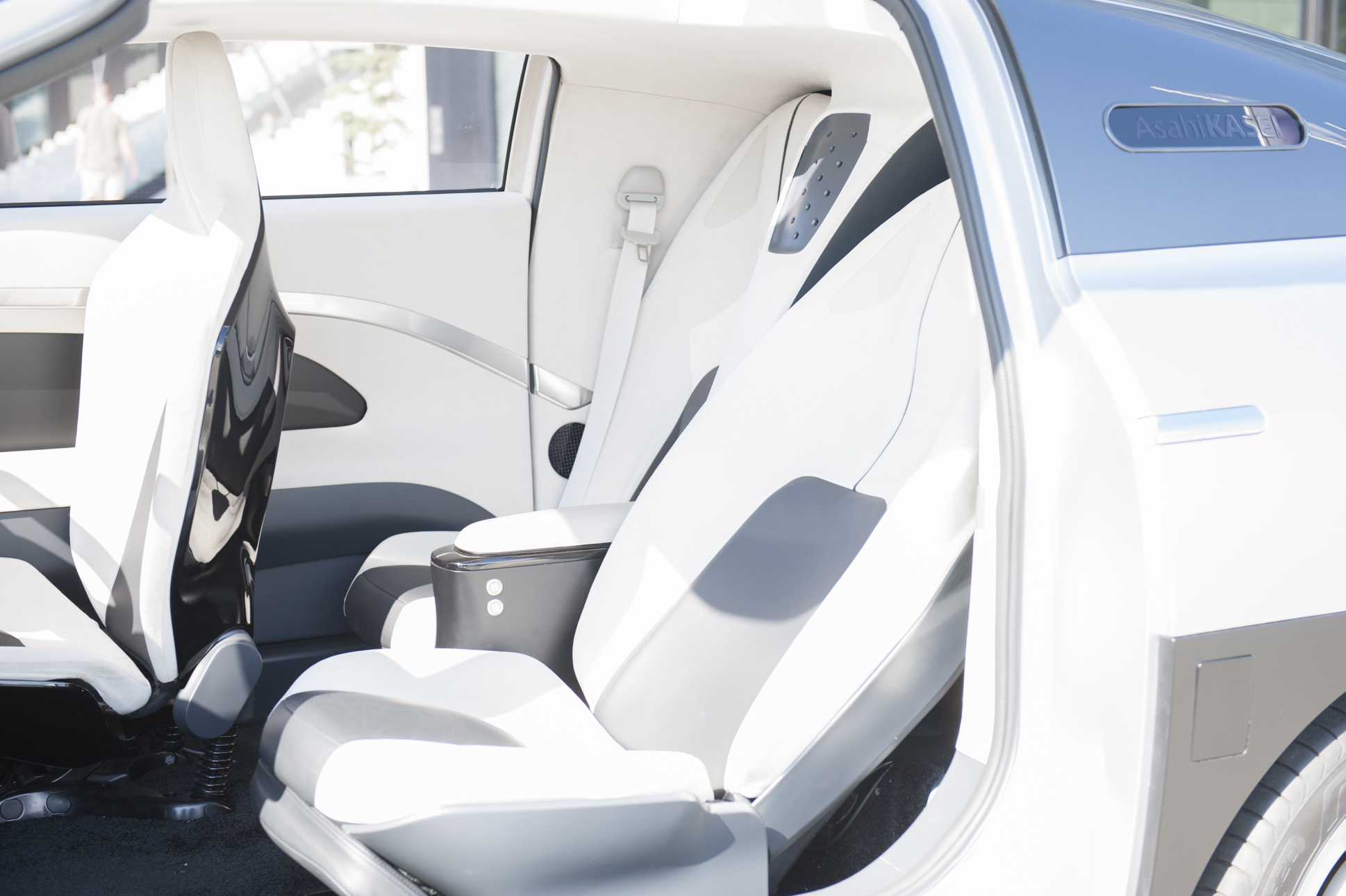 According to Asahi Kasei, the automotive interior of the future will become a new living space (Source: Asahi Kasei)