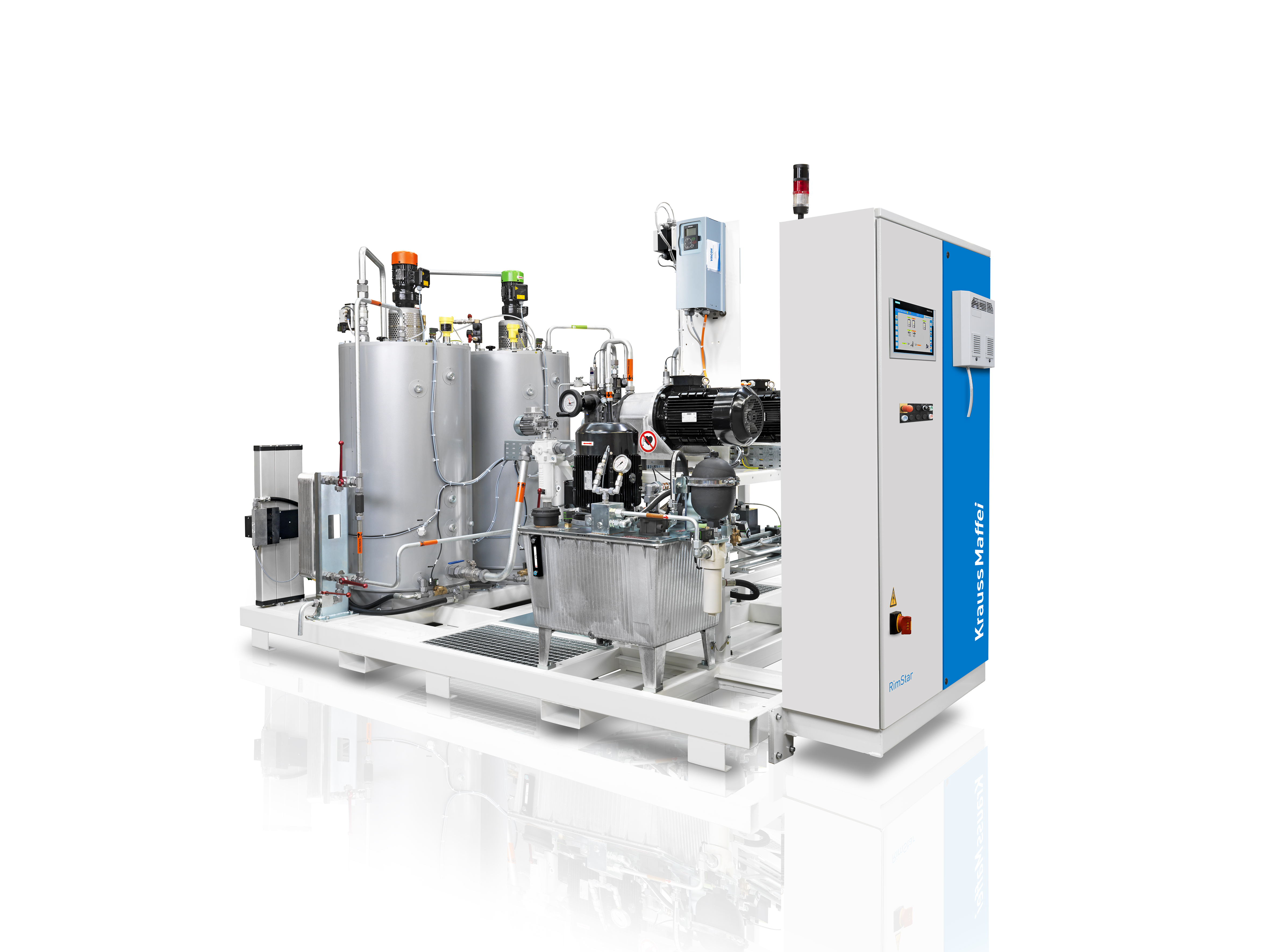 KraussMaffei offers the new standard metering machine RimStar for high demands. (Source: KraussMaffei)