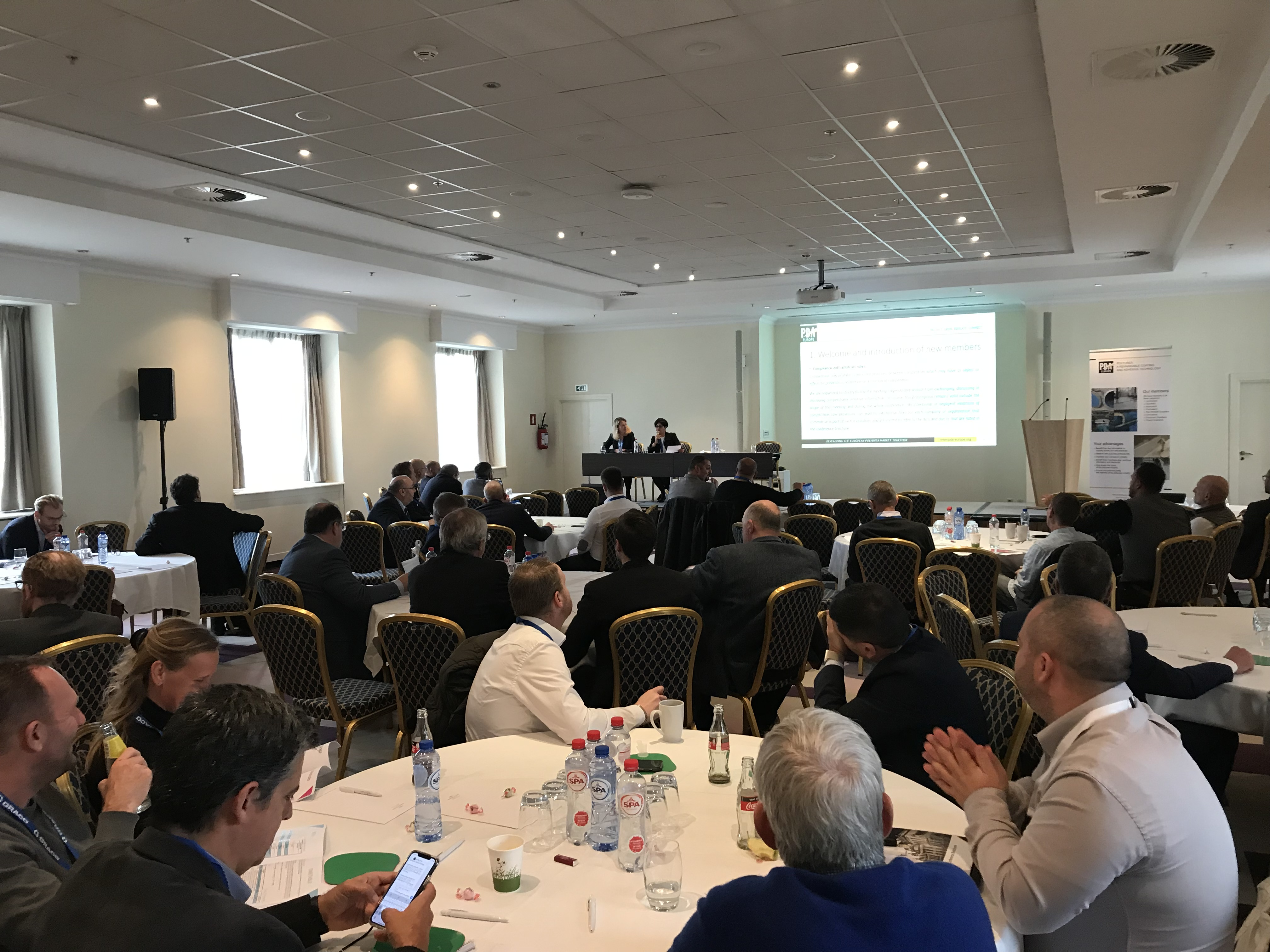 More than 70 polyurea industry representatives attended the PDA Europe Annual Conference 2019 (Source: PDA Europe)