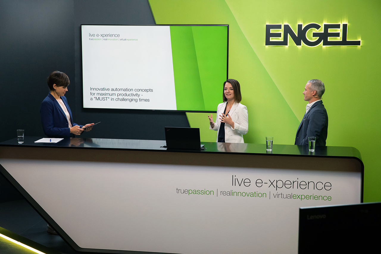 Engel's traditional in-house exhibition will be a virtual event this year. (Source: Engel)