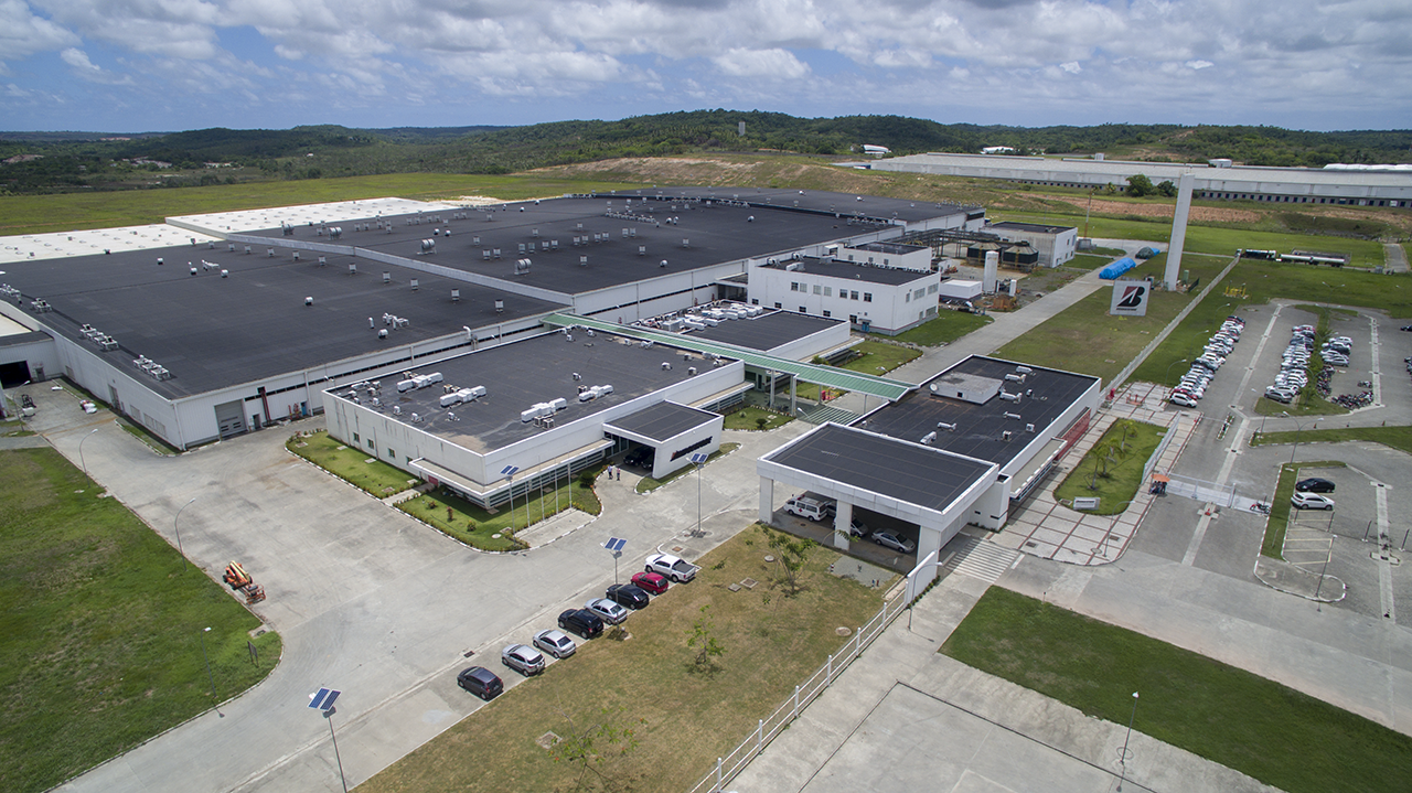 Bridgestone Brazil will invest more than BRL 700 million (~ USD 139 million) in the modernisation and expansion of its tyre plant in the city of Camaçari. (Source: Bridgestone)