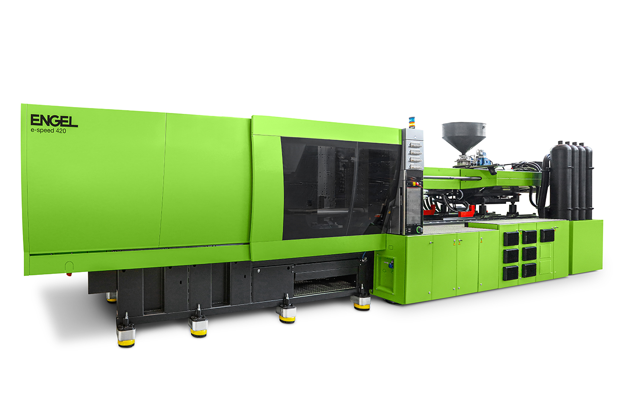 The e-speed 420 with clamping force of 4,200 kN. (Source: Engel)
