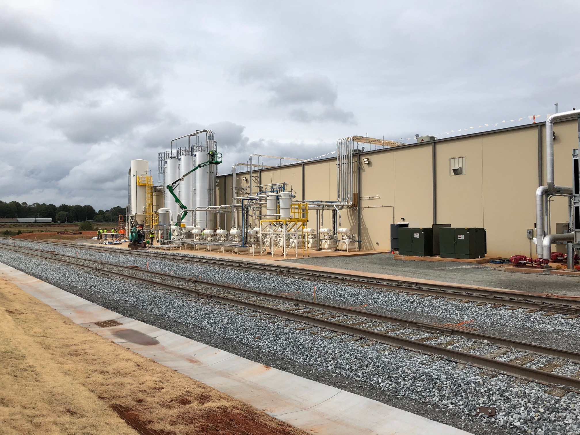 Borealis´ new PP compounding plant in Taylorsville, NC, USA. (Source: Borealis)