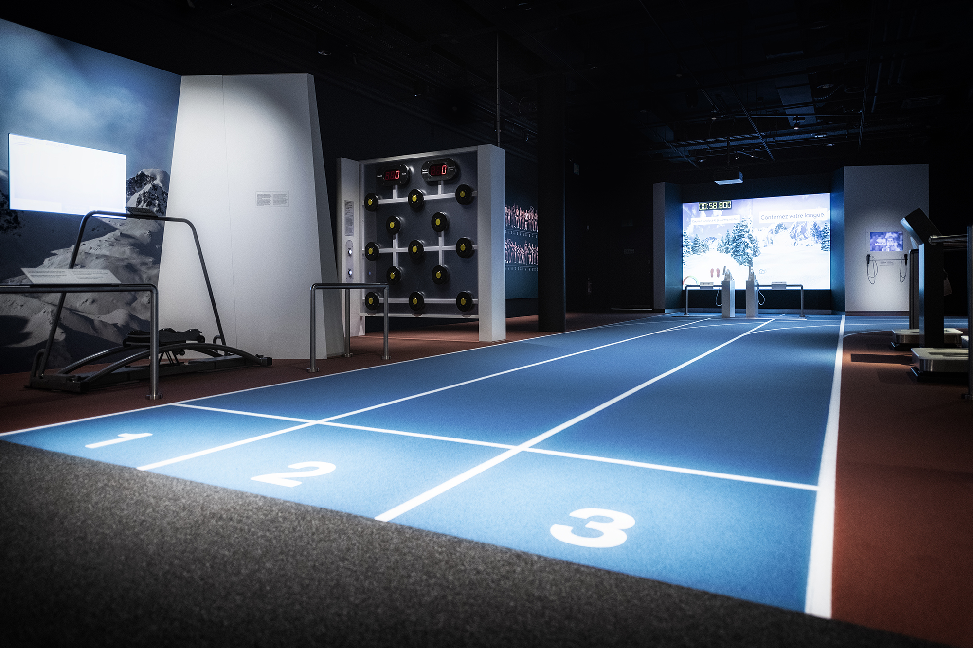 PU binder solutions from Dow were used in the Olympic Museum running track in Lausanne (Source: Dow)