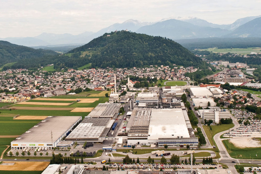 Goodyear manufacturing facility in Kranj, Slovenia (Source: Goodyear)