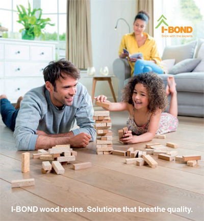 I-Bond MDI wood resins meet stringent board standards regarding the emission of formaldehyde (Source: Huntsman)
