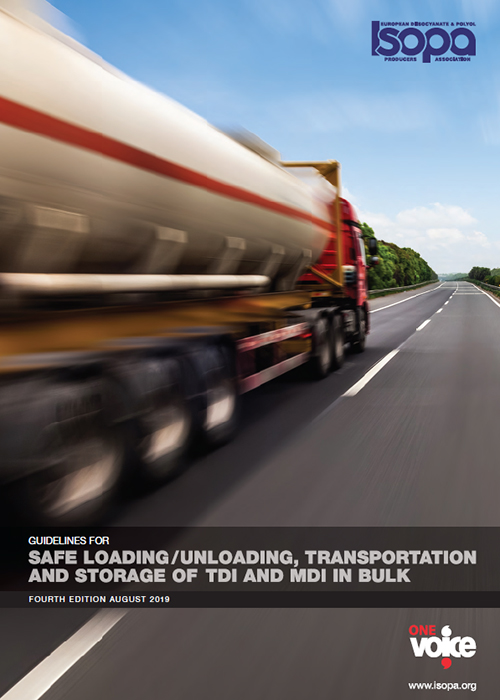 Guidelines for Safe Loading/Unloading, Transportation and Storage of TDI and MDI in Bulk (Source: Isopa)