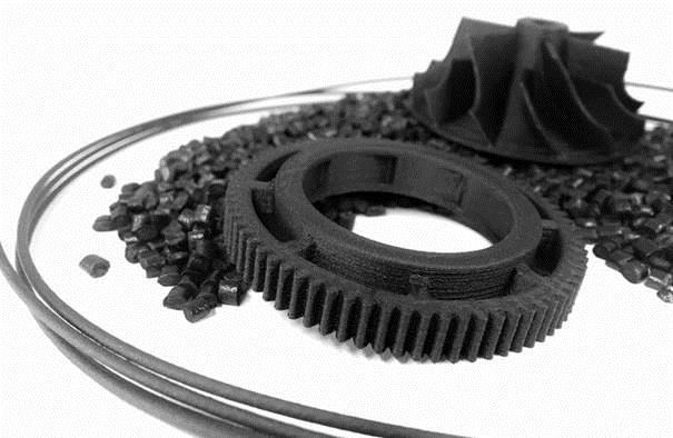 Luvocom 3F for extrusion-based 3D printing processes offers good processing characteristics and component properties. (Source: Lehmann&Voss)
