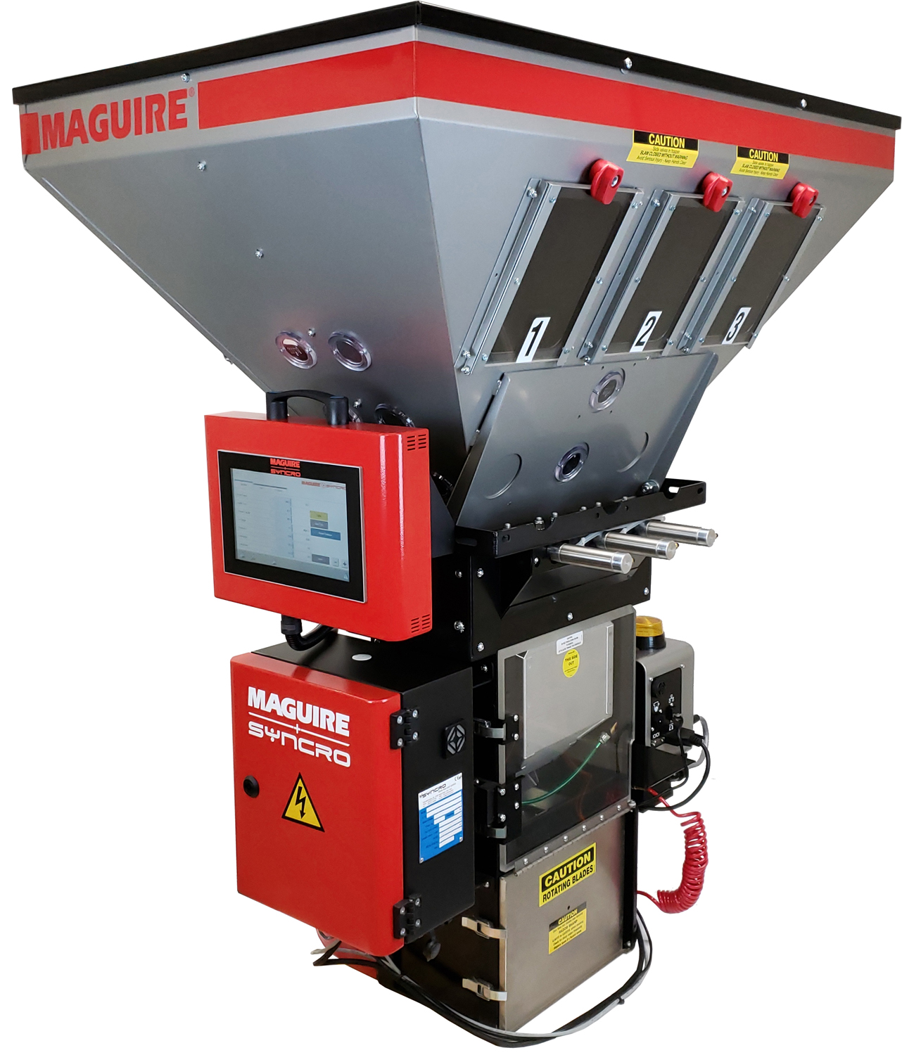 WXB 460 weigh extrusion blender (Source: Maguire Products)