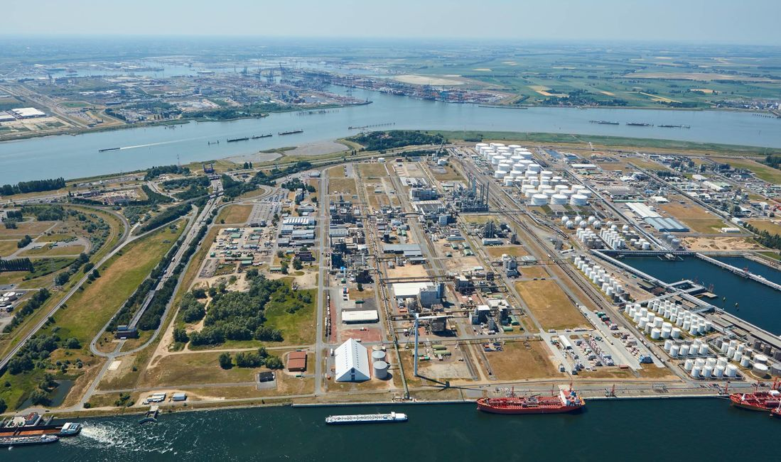 Evonik's site in Antwerp, Belgium (Source: Evonik)