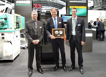 Druckversion - Plast Platinum Award 2015 for Arburg's Freeformer