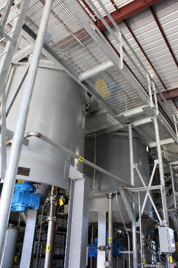 (Source: Third Coast) Third Coast's new system has been carefully designed to allow the addition of small quantities of additives, thereby allowing customers to produce specialised products.