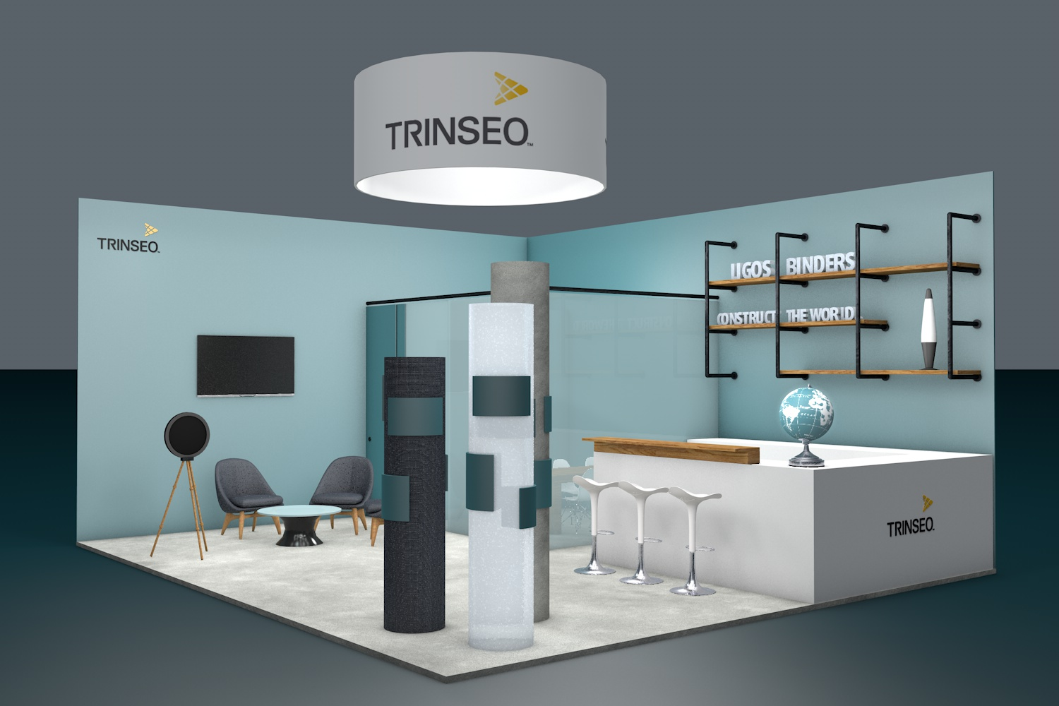 Trinseo is presenting its portfolio of latex binders for the adhesives and construction industry at ECS 2019 (Source: Trinseo)