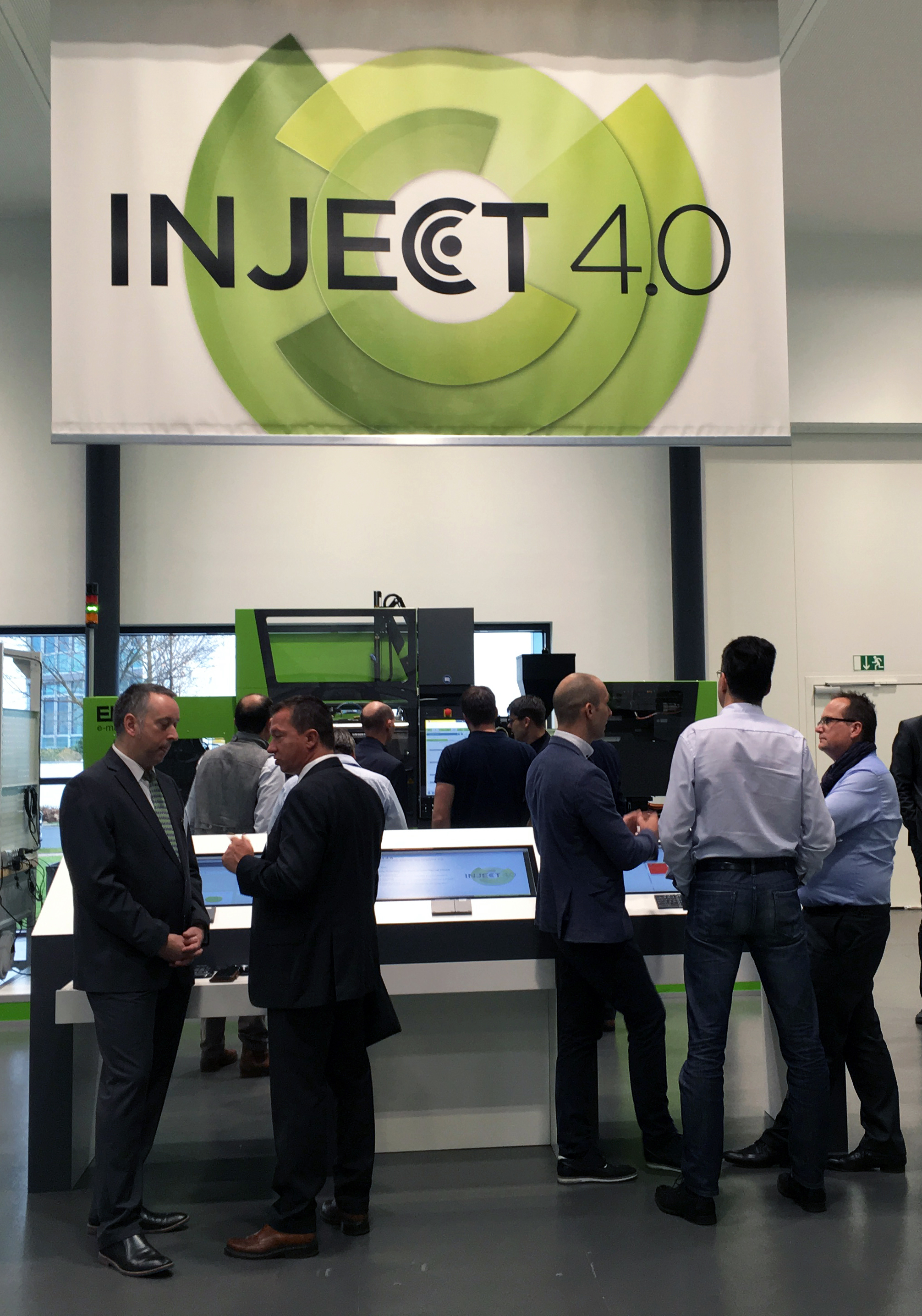 inject 4.0 is a firm focus of Engel's interactive new technology centre. (Source: Engel)