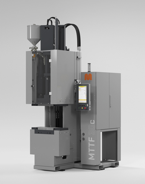 The MTTF-C 30, the C-frame generation that clamps from above, is now available as a TPE version.