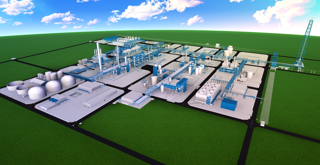 thyssenkrupp is constructing the turnkey plant complex on a roughly 550,000 msup2/sup site (Source: thyssenkrupp Industrial Solutions)
