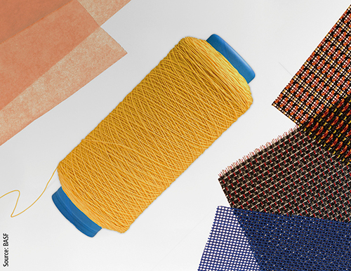 Due to its high elasticity and mechanical resilience, Elastollan is often used for the production of various basic materials in the textile industry.