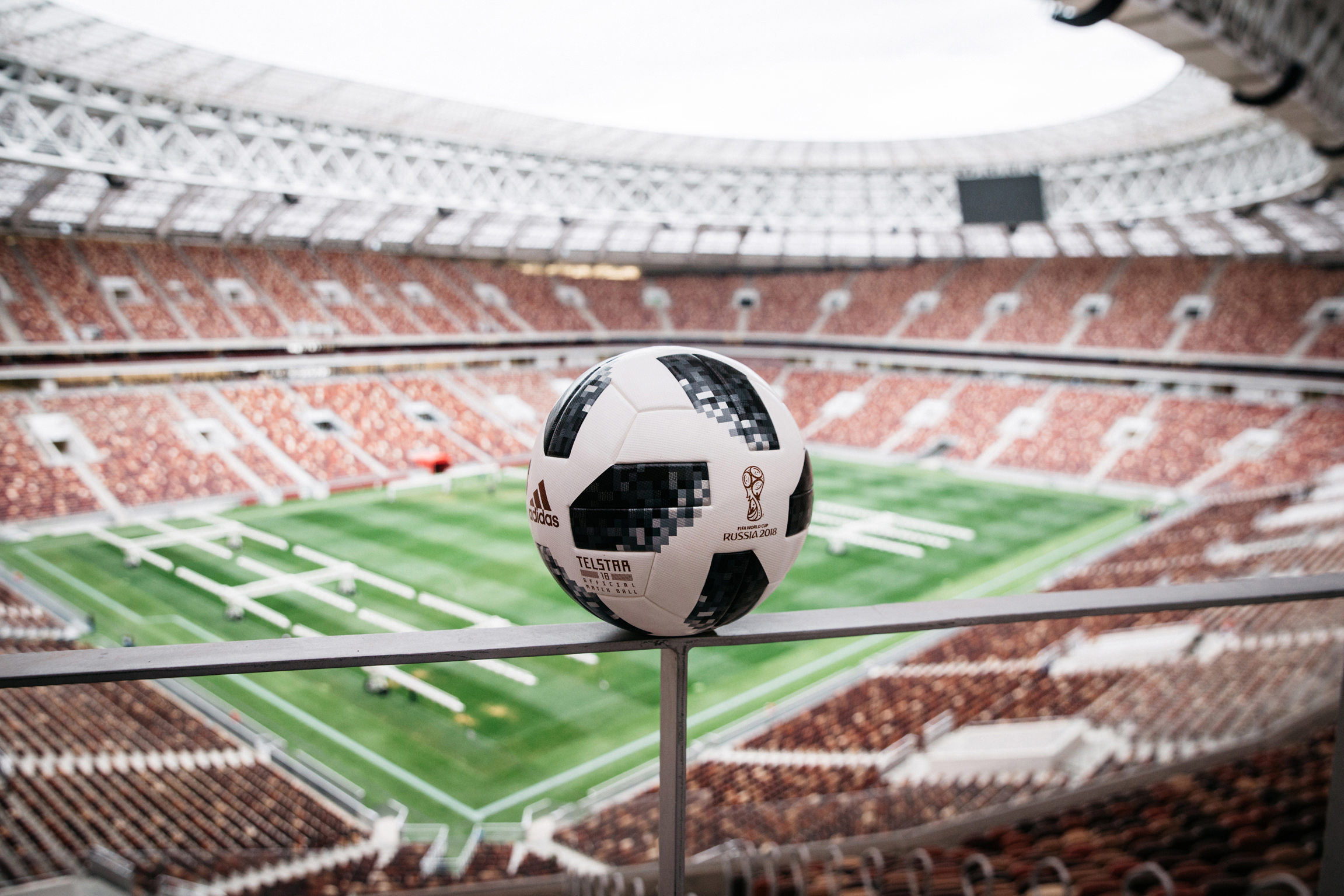 The Telstar 18 from adidas is the 2018 FIFA World Cup Official Game Ball. (Source: adidas)