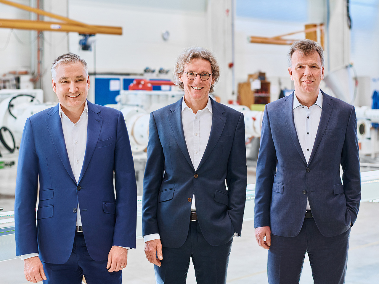 The new Troester Management Board (f.l.t.r.):  Thomas Holzer, Dr. Peter Schmidt (Managing Partner) and Bernd Pielsticker (Source: Troester)