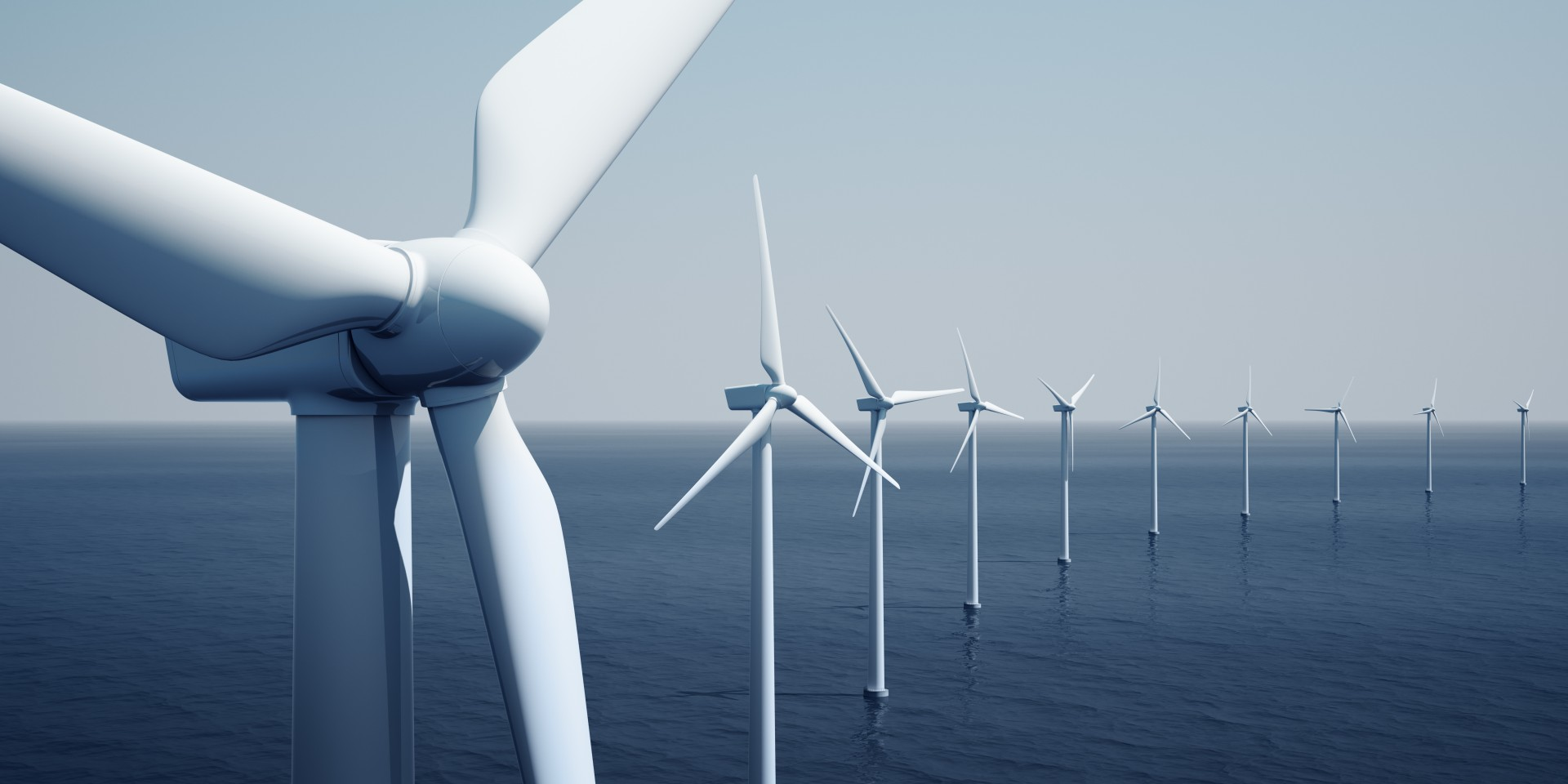 Covestro supplies the offshore wind industry with materials that improve the service life of the systems installed in wind farms by protecting underwater cables, cable kink protection, turbine protection and others. (Source: Zentilia – stock.adobe.com)