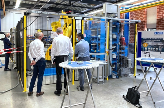 On a total of four event days, the automation exhibits were discussed with numerous company teams in compliance with strict anti-corona measures. (Source: LWB-Automation)