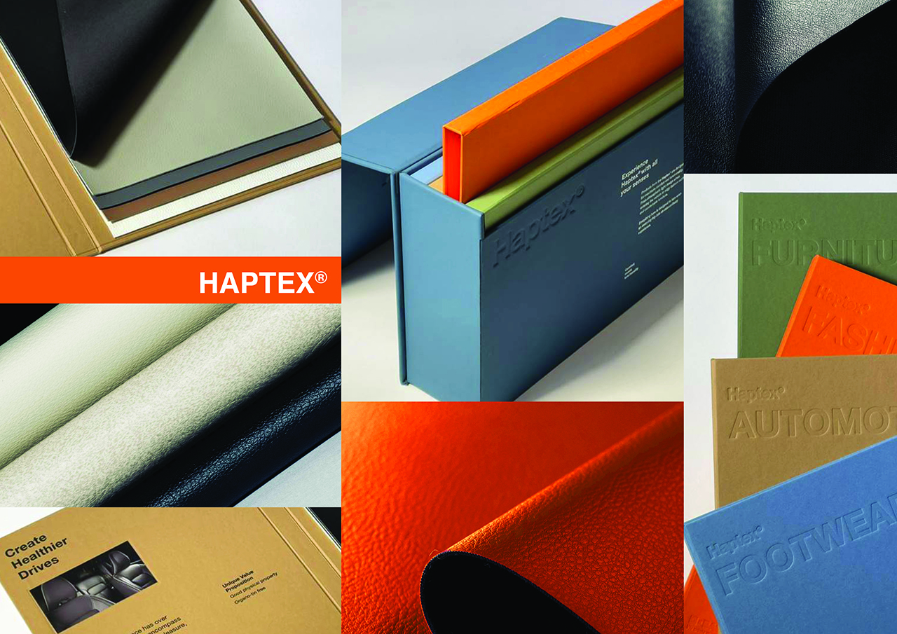 Haptex is a polyurethane synthetic leather solution from BASF (Source: BASF)