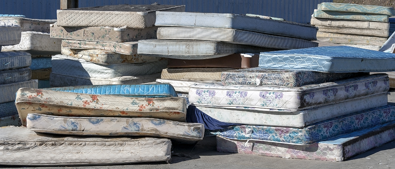 Dow and Eco-mobilier collaborate for the collection and supply of post-consumer PU foam for the Renuva Mattress Recycling Program. (Source: Noel Stock Adobe.com)