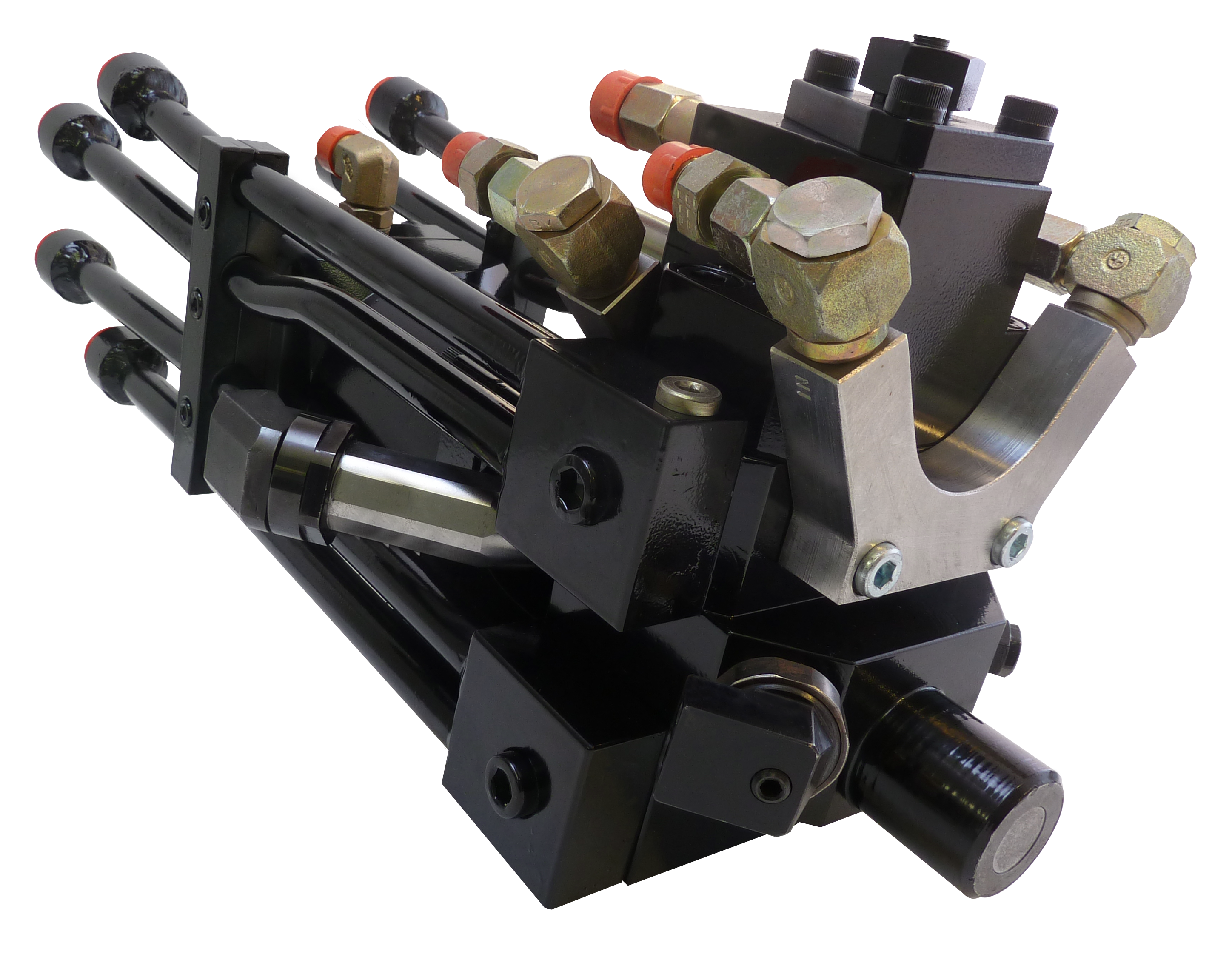 The AX22 high pressure multi-component mixing head for the automotive seats industry (Source: Cannon)