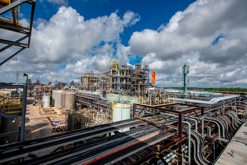 Covestro production site in Baytown, TX, USA (Source: Covestro)