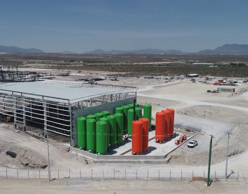 H&S Anlagentechnik has handed over a large tank facility for the storage of PU components to Ikano Industry in Mexico. (Source: H&S Anlagentechnik)