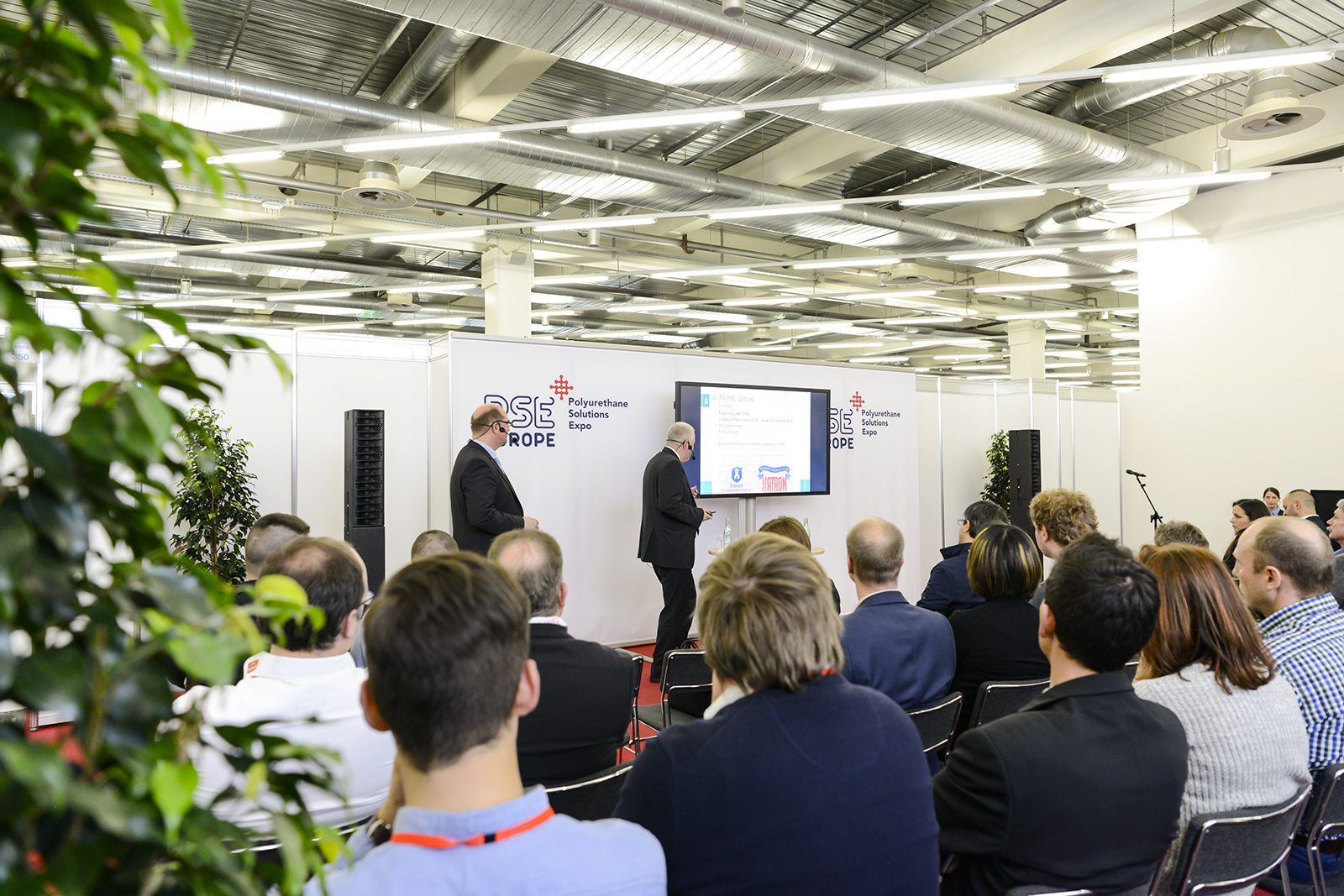 The seminar programme recorded a high number of attendees and provided additional insights into major developments in PU processing (Source: Mack Brooks Exhibition)