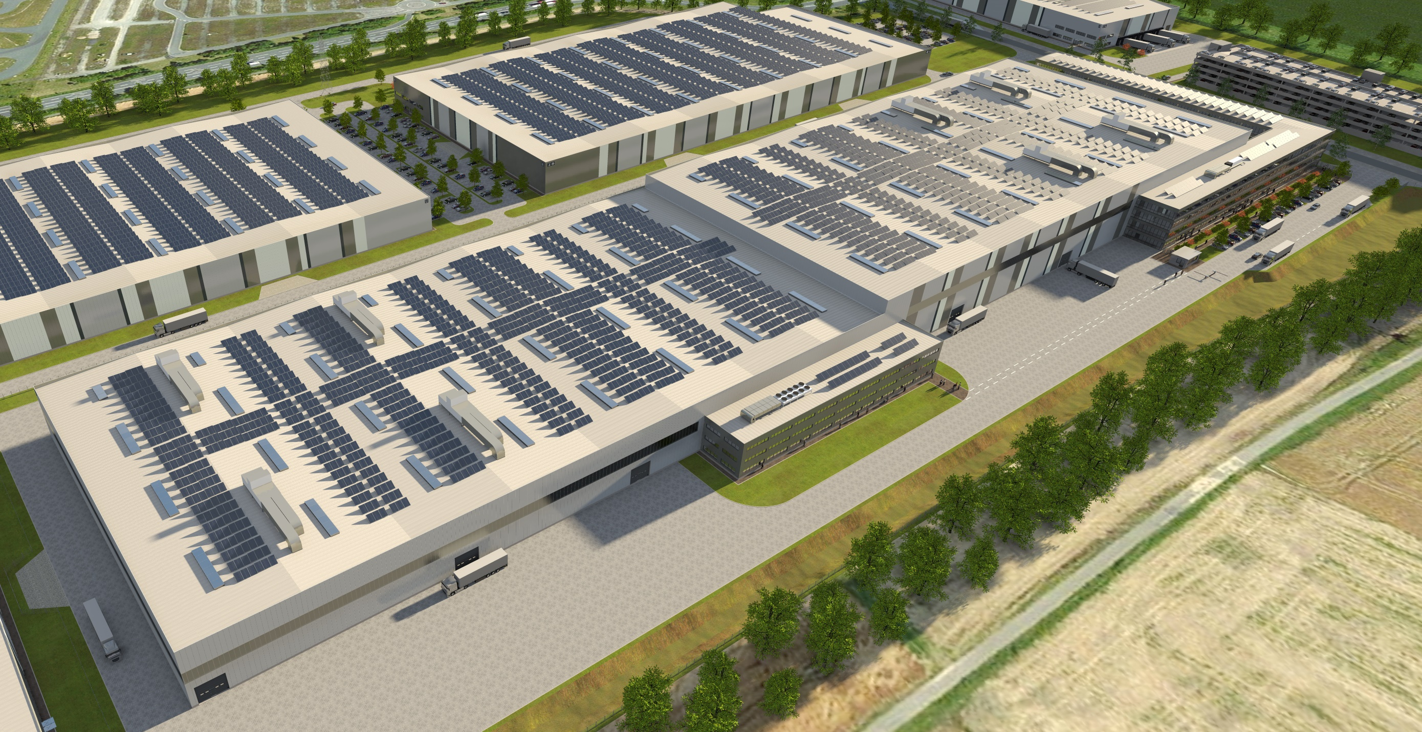 KraussMaffei Berstorff is planning a 38,000 m<sup>2</sup> plant in Hanover-Laatzen for 750 employees (Source: KraussMaffei Berstorff)