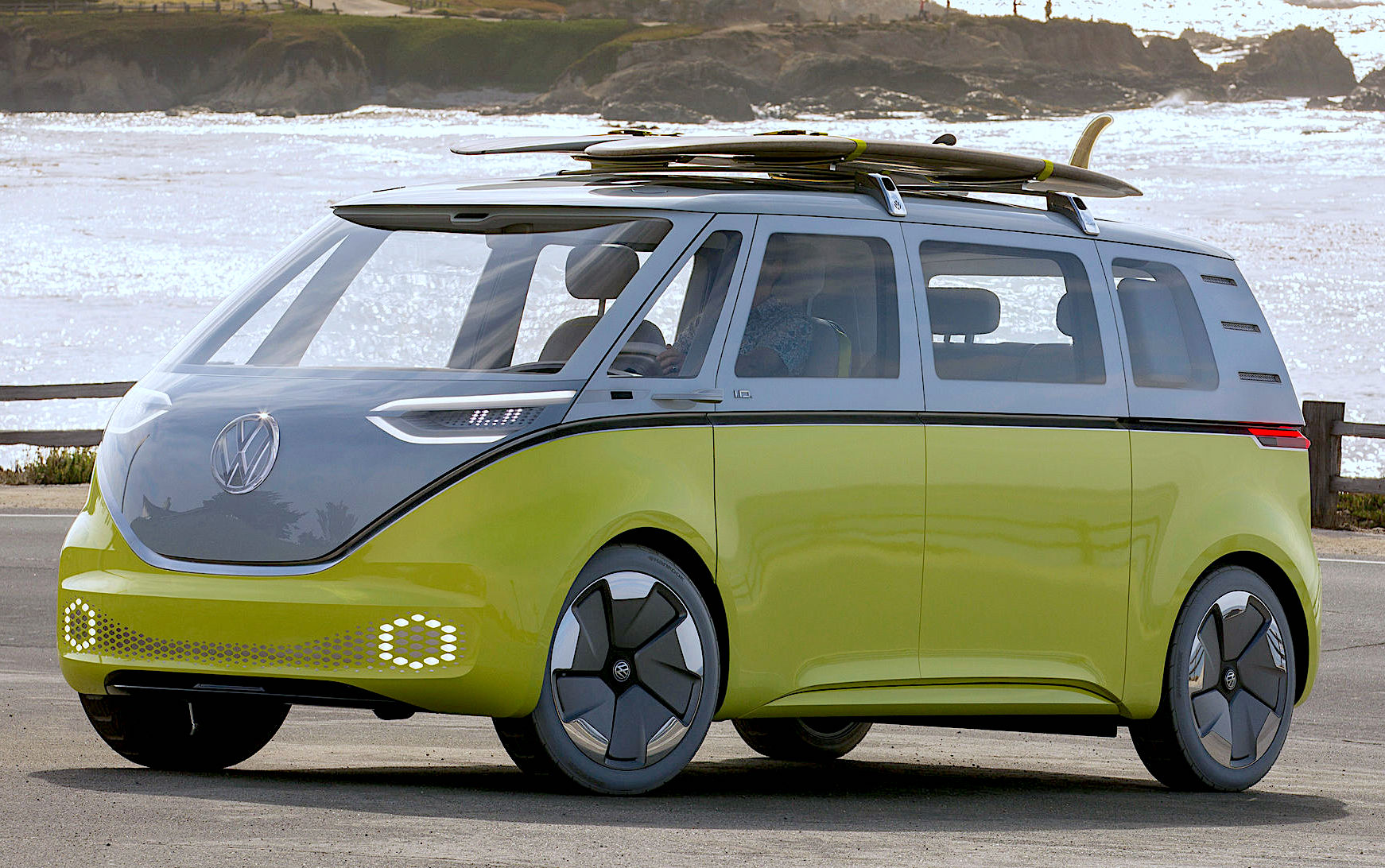 Eldisy has been commissioned by VW to produce all plastic exterior components for the new VW ID.Buzz (Source: Volkswagen AG)