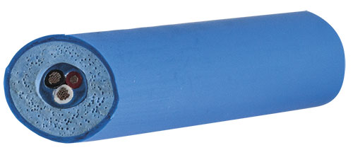 Floating cables made with Elastron TPE compounds have high pressure resistance, increased mechanical properties, water absorption resistance and flexibility. (Source. Elastron)